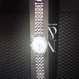 Stainless steel watch,brand new never worn.